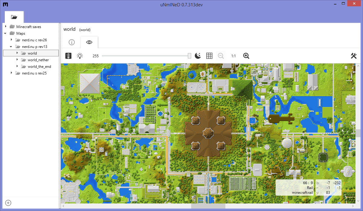 Unmined 2d Mapper Minecraft Tools Mapping And Modding Java