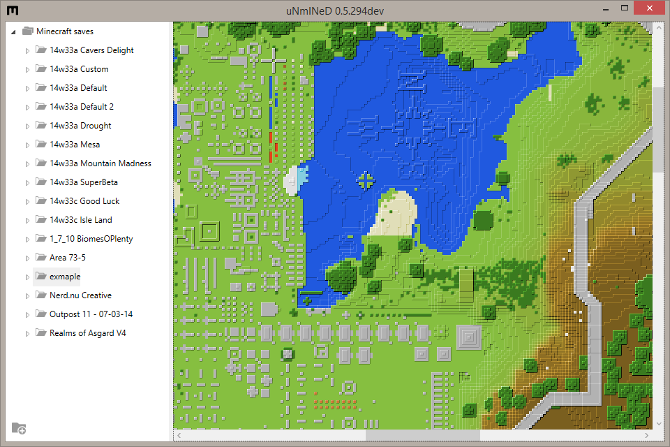 uNmINeD   minecraft mapper   Page 6